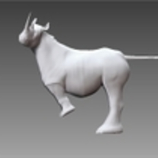 How to rig a rhino in zbrush