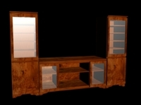 Entertainment Center 3D Model