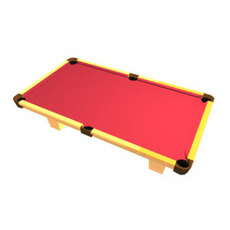 Pool Table (.mb) 3D Model