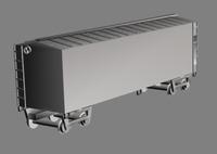 Boxcar 3D Model