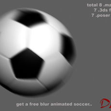 Soccer set 3D Model
