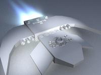 Free Small corvette 3D Model
