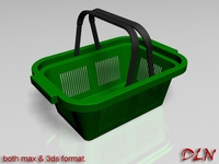 Basket (shopping) 3D Model