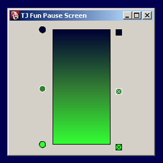 How to make a fun pause screen using mel