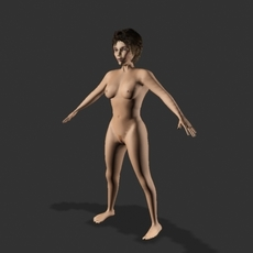 Annabel 3D Model