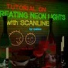 Creating Neon Lights in Scanline