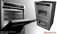 Wolf 30 inches Double Oven 3D Model