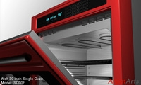 Wolf 30 inch Single Oven 3D Model