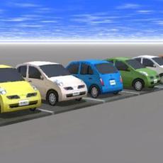 Nissan March 3D Model