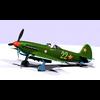Fighter Yak 9 D w\t 3D Model