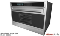 Wolf 36 inch Single Oven 3D Model