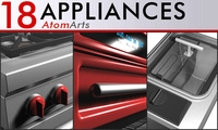 18 Appliances Collection 3D Model