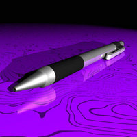 Pen.dxf.zip 3D Model