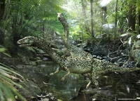 Rendering realistic prehistoric animals