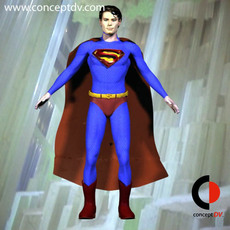 Superman Returns solid Model 3D Model