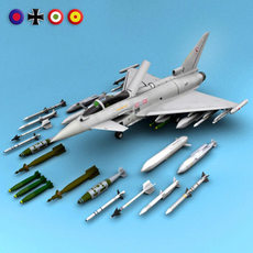 Typhoon Eurofighter 3D Model