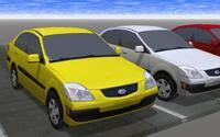 Free Kia Rio 3D Model