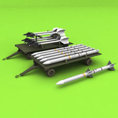 Outer Loader Trailer 3D Model