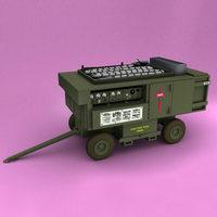 A/M32A-60A Generator Set 3D Model