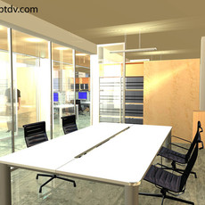 Generic Office Space one  3D Model