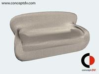 Free Sofa 1 3D Model