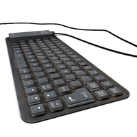 Silicon keyboard 3D Model
