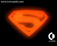 Superman Returns Logo 3D Model