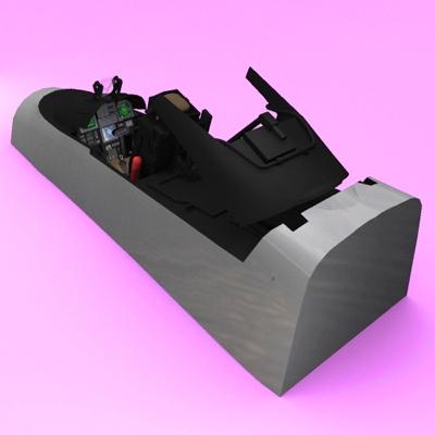 Cockpit 3D Model