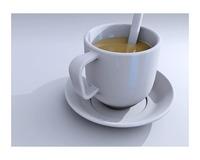 Free Tea Cup 3D Model