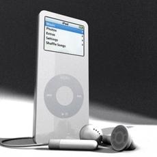iPod 3D Model
