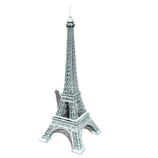 Eiffel tower HD 3D Model