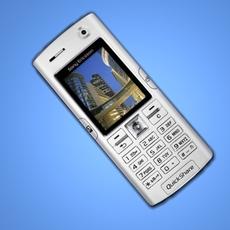 Sony Ericsson K608i 3D Model