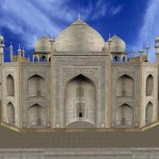 Taj Mahal 3D Model