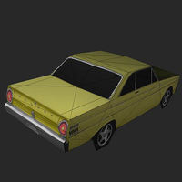 1964 Falcon coupe 3D Model
