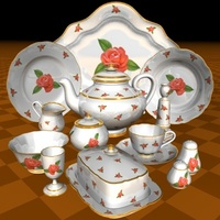 porcelain 3D Model