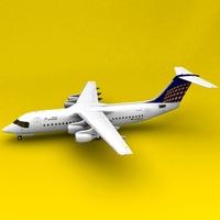 BAe-146 3D Model