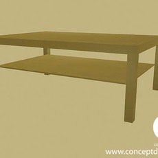 Coffee Table 1 3D Model