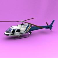 AS-350 US Customer 3D Model