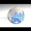 23 51 04 712 blue earth globe 02 4