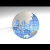 23 51 04 736 blue earth globe 03 4