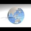 23 51 04 762 blue earth globe 04 4