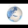 23 51 04 830 blue earth globe 07 4