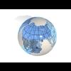 23 51 04 855 blue earth globe 08 4