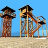 23 51 05 368 4 guard towers 07 4