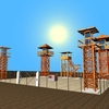 23 51 05 888 4 guard towers 01 4