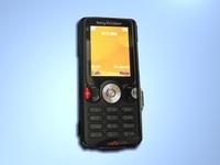 Sony Ericsson W810i 3D Model