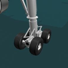A320 KLM 3D Model