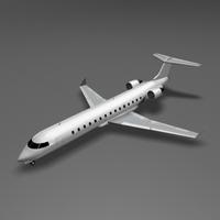 CRJ 700 3D Model