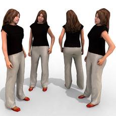 16 3d People Models - Casual 2 3D Model