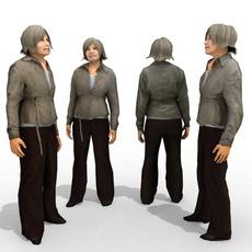 3d Model - Casual Female #9 3D Model